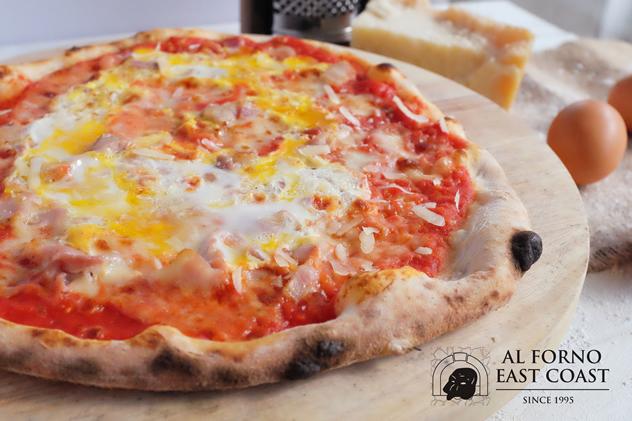 pizza saporita from Al Forno East Coast Restaurant and Pizzeria